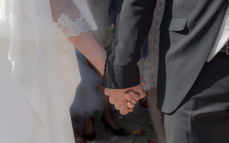 mariage mains